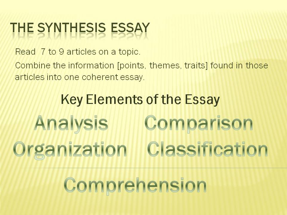 synthesis essay edu Ap english language and composition then write an essay in which you edu/photoshtml.